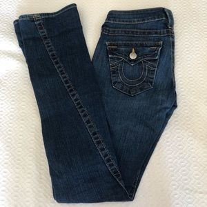 True Religion Flare Jeans Size 24